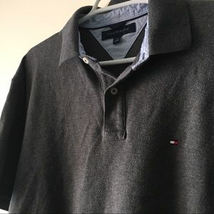 TOMMY HILFIGER 🇳🇱 Polo Classic Grey Men's Large